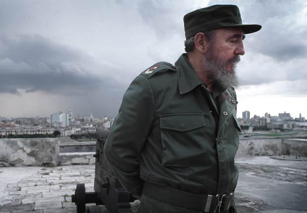 Prsidente de Cuba Fidel Castro - Políticos famosos frente a enfermedades durante su servicio