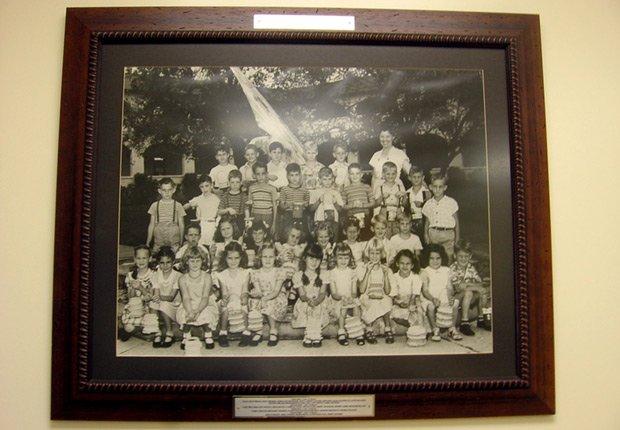 Algunos de los primeros estudiantes de la Escuela Primaria Coral Way en Miami, Derechos humanos chicanos