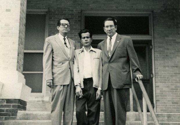 Fiscal Gustavo García, Pete Hernández, Fiscal Johnny Herrera, Derechos Civiles chicanos