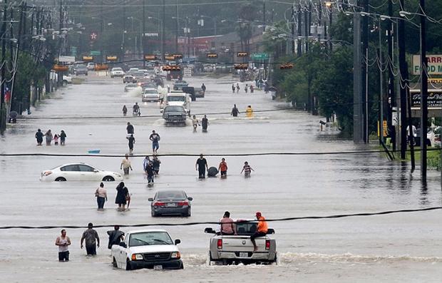 Inundación en Texas - Huracán Harvey