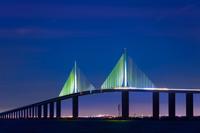 Tampa to Saint Petersburg Skyway Bridge
