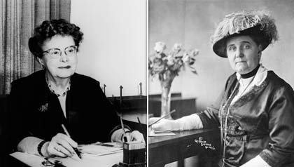 Ethel Percy Andrus and Jane Addams