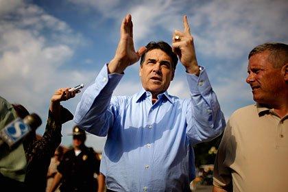 Rick Perry: Candidatos republicanos para las elecciones del 2012