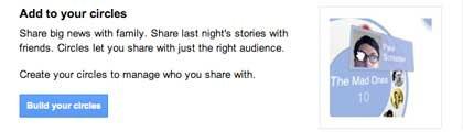 Google + se basa en el concepto de la utilización de medios para clasificar a los usuarios que se conectan a usted en la red social. Este método está dando una ventaja sobre Facebook en ya que el usuario puede controlar mejor su privacidad.