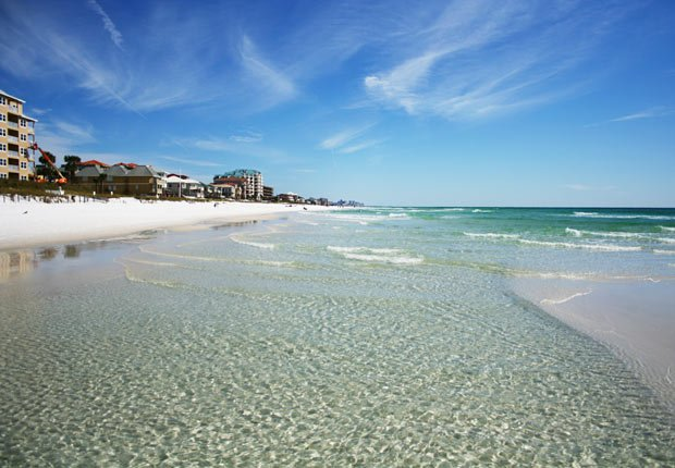 Sandy Beach in Destin, Florida - 10 Viajes econónicos para el 2013