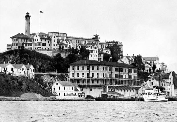 Isla de Alcatraz y penitenciario de la bahía de San Francisco, los edificios más extraños de América