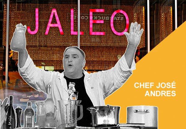 Restaurante Jaleo del chef José Andrés
