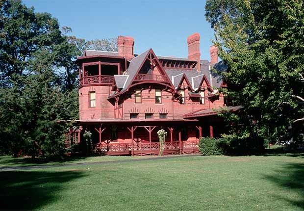 Residencia de Mark Twain - Casas o sitios donde dejaron huella escritores famosos