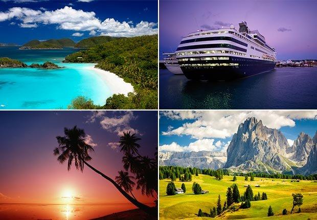Travel End Slide Collage