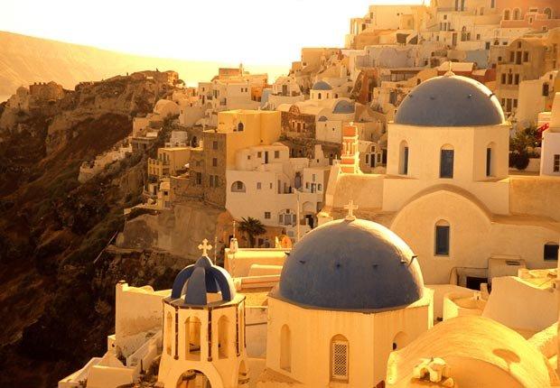 Isla Santorini, Grecia - 10 escapadas a islas ideales