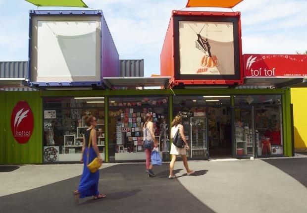 Centro comercial en Christchurch, Nueva Zelanda - 10 ideas de moda para sus vacaciones