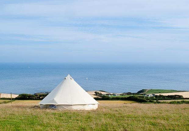 Cuckoo Down Farm, Ottery St. Mary, Devon, Inglaterra - 7 sitios para acampar con clase