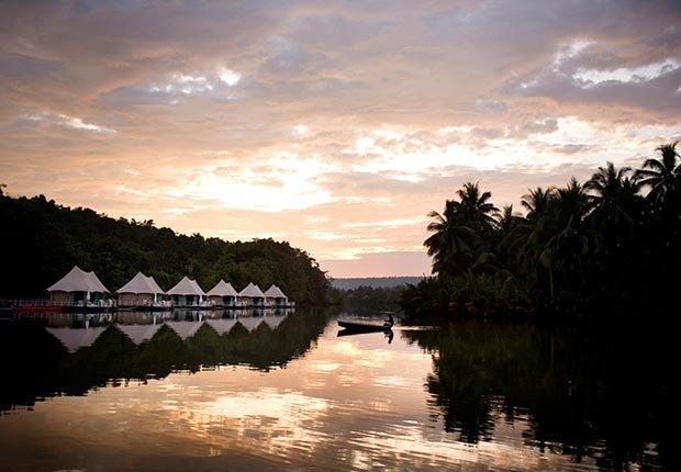 4 Rivers Floating Lodge, Koh Kong, Cambodia - 7 sitios para acampar con clase