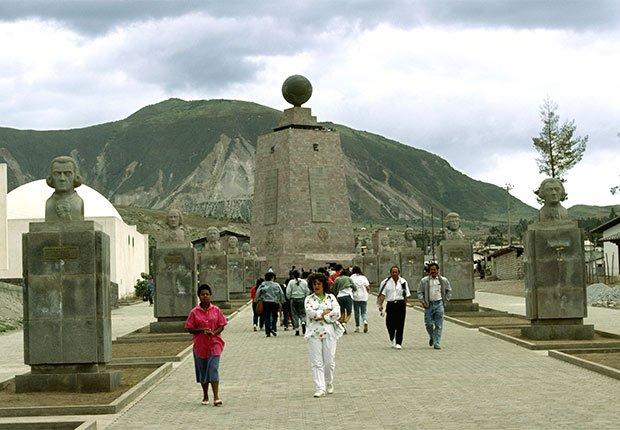 La mitad del mundo, Ecuador