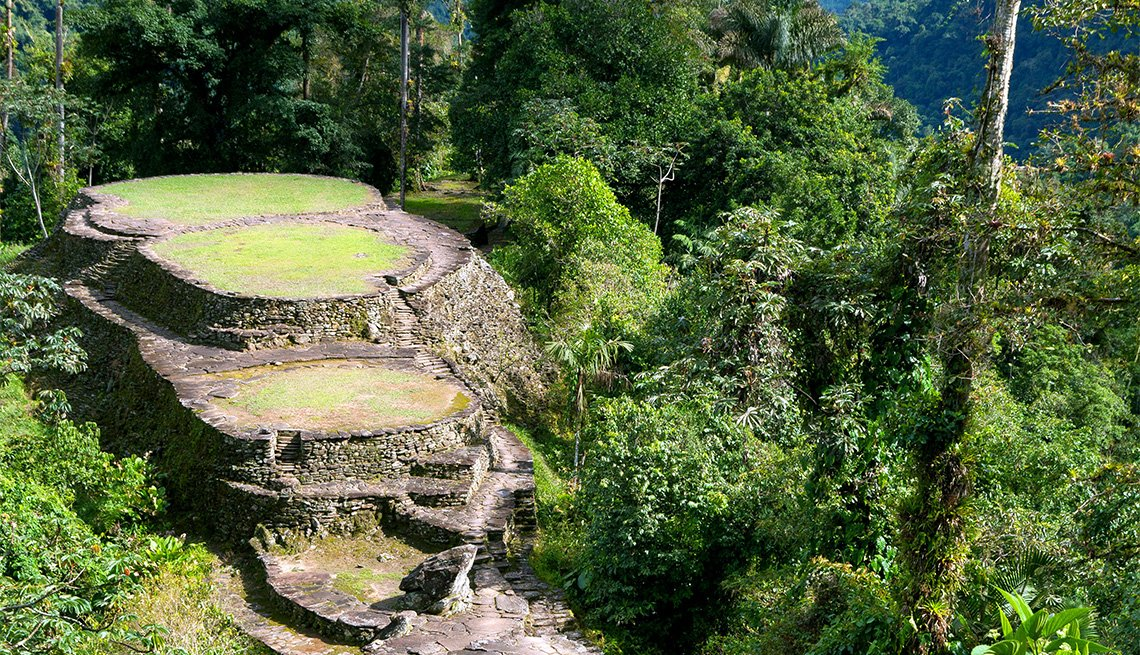 Visit the Lost City, Colombia