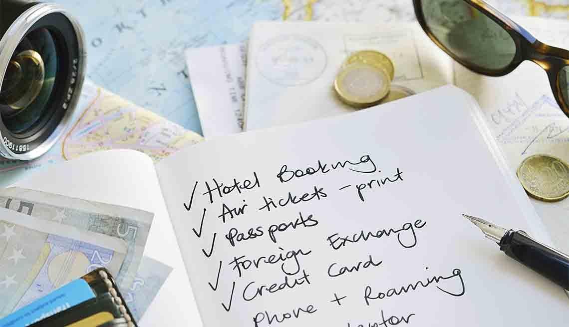 8-Point Checklist for International Travel