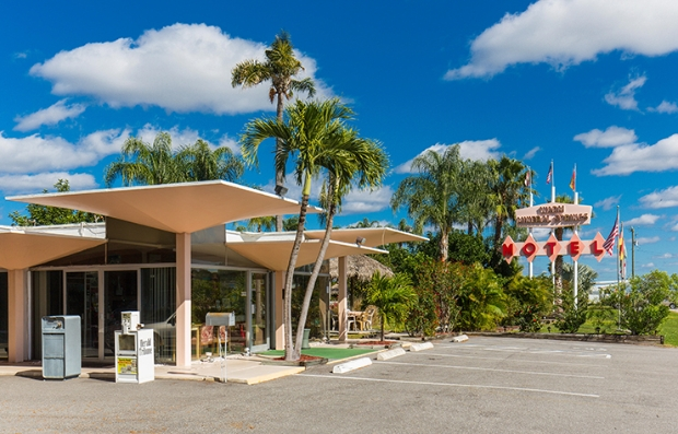 Warm Mineral Springs Motel in North Port, Fla.