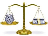 Escala con el reloj y dinero, Concurso sobre los errores de su retiro