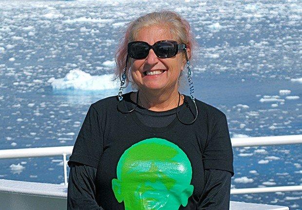 Sylvia Solomon - Primer día de la jubilación