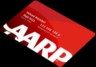 a a r p membership card