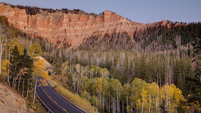 Patchwork Parkway (Route 143), Utah