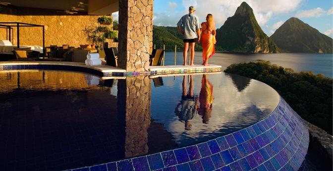 The Romantic: St. Lucia