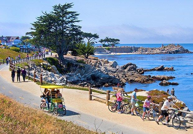 Lugares para unas vacaciones en familia - Monterey, California