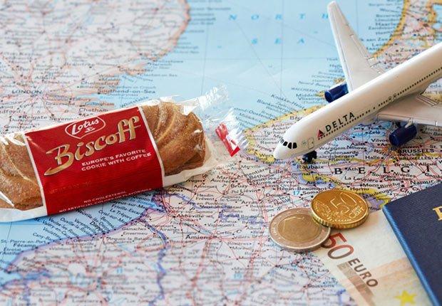 Delta continua ofreciendo sus famosas galletas belgas Biscoff - Los consejos de viaje de nuestros expertos