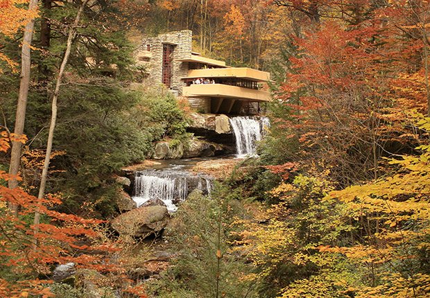Samantha Brown's Top Picks for Fall Foliage - Visit to Fallingwater, Mill Creek, Pennsylvania