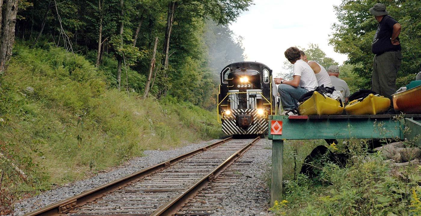Adirondack Scenic Railroad, New York