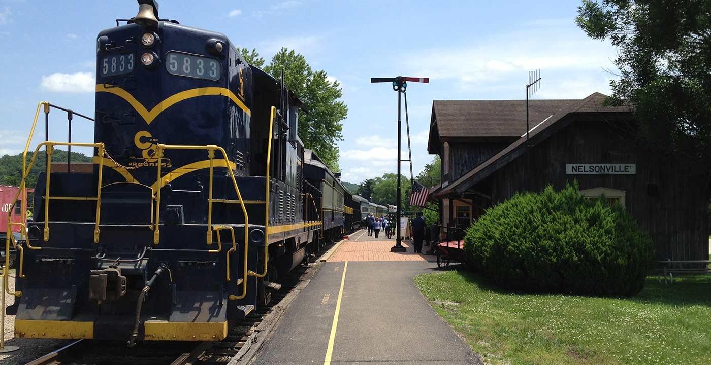 Hocking Valley Scenic Railway, Ohio