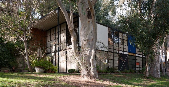 The Eames House, Pacific Palisades, California