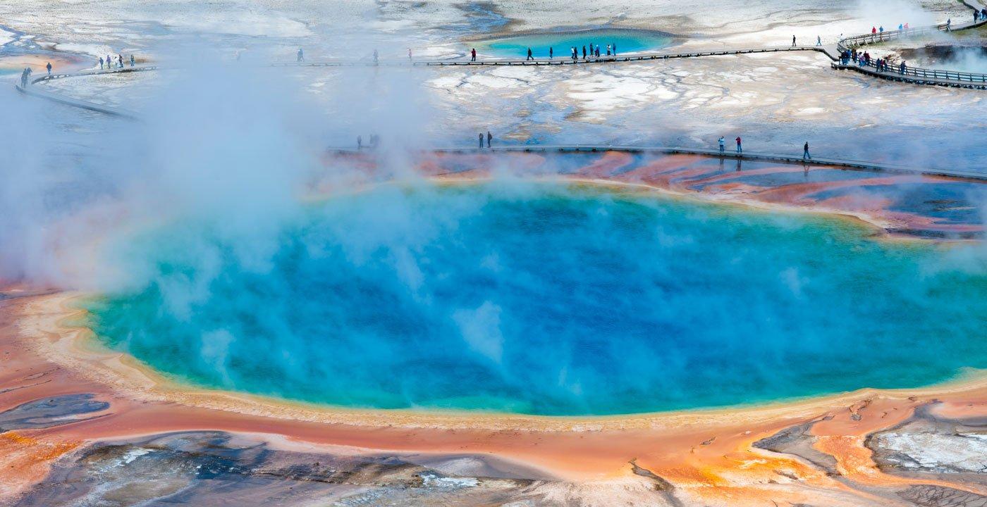 Yellowstone Caldera, Wyoming and Montana