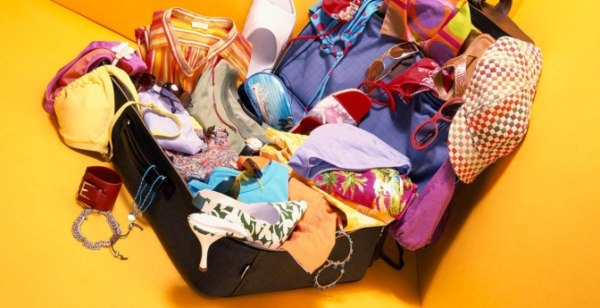 Use these tips to avoid overpacking and streamline your luggage bulk.