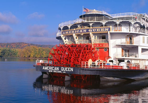 The Mississippi River, 5 Great American River Cruises