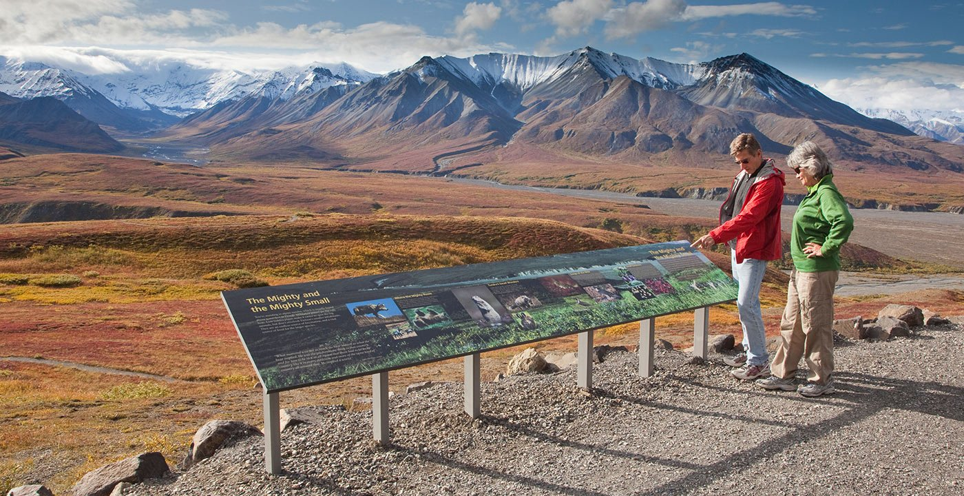 Enjoy the Vistas at Eielson Visitor Center