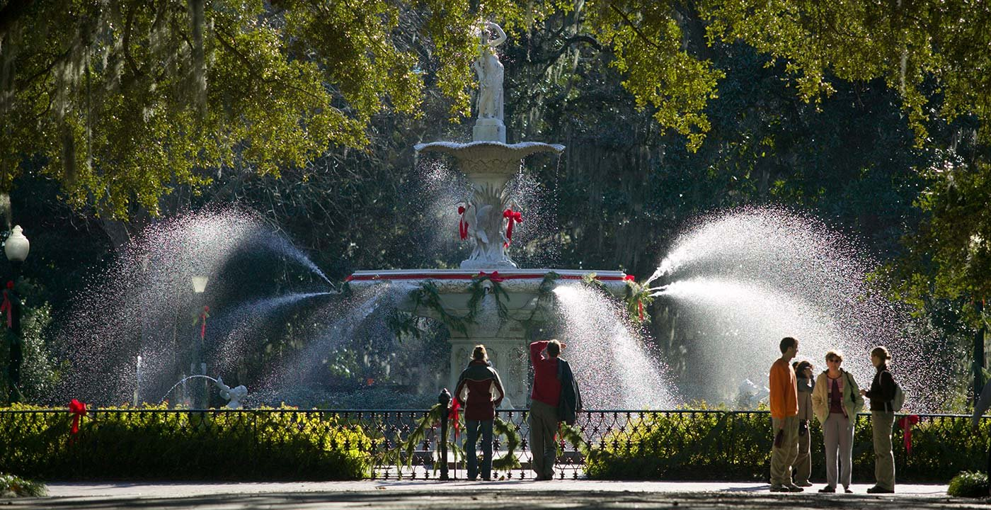 A Beloved Landmark in Forsyth Park