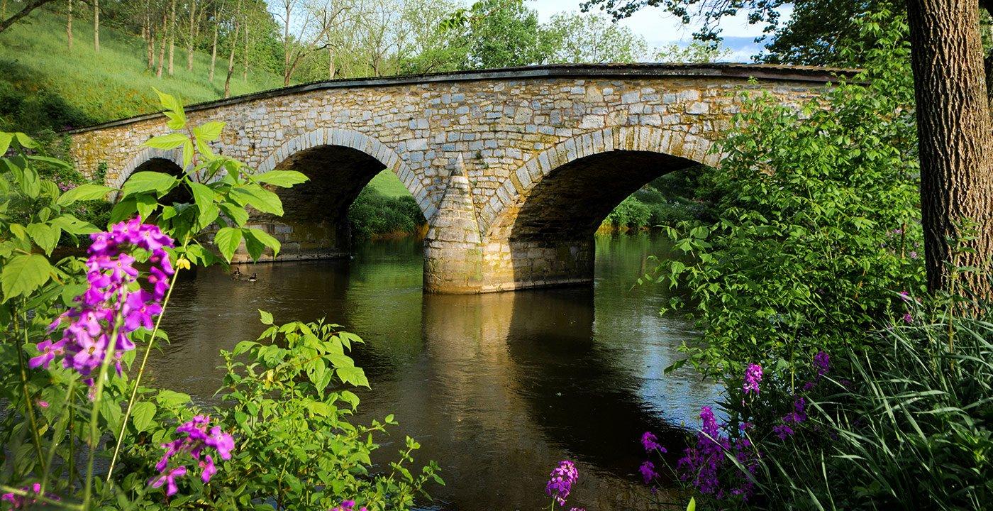 Burnside's Bridge at Antietam Battlefield