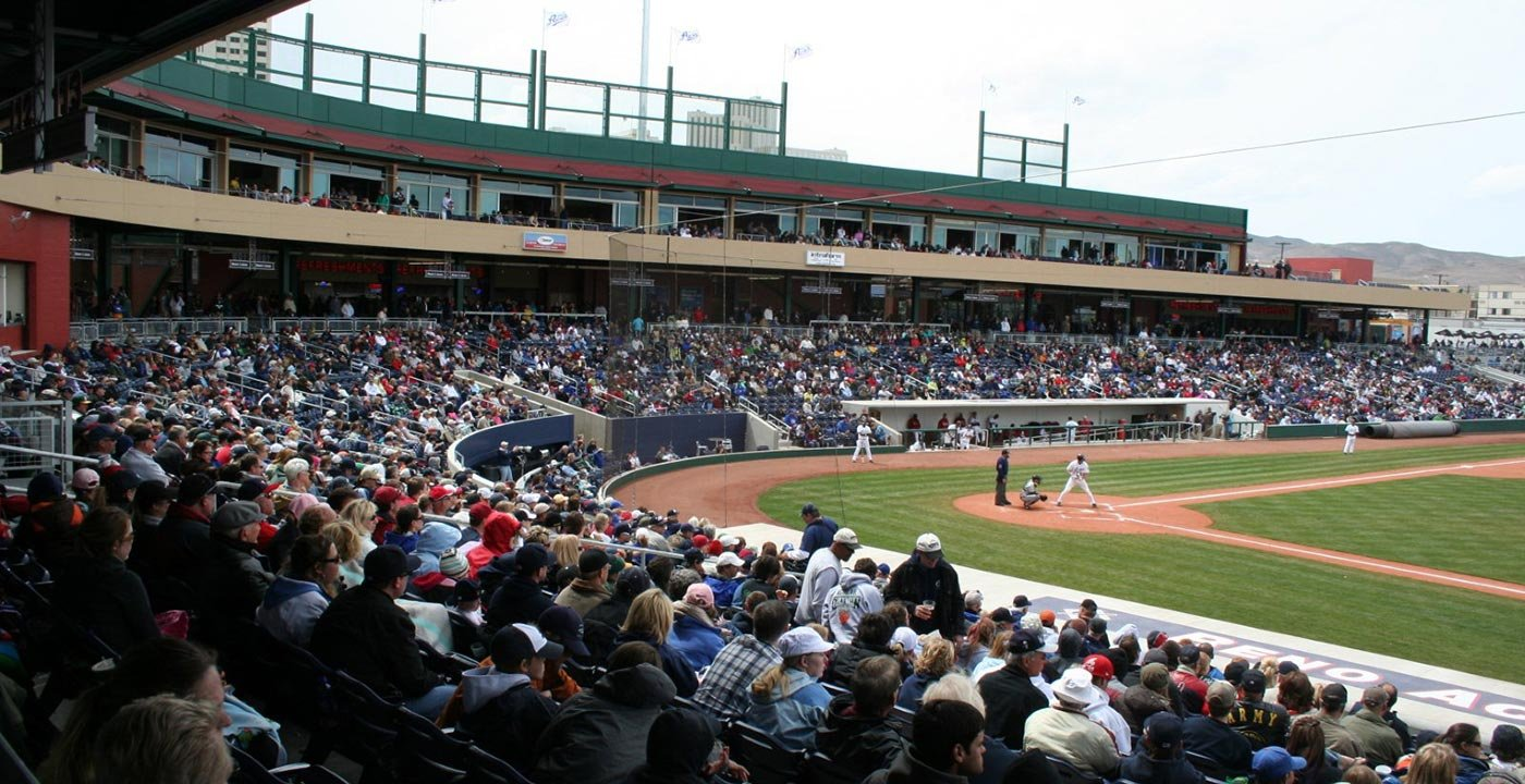 Take Yourself Out to the Reno Aces Ballpark