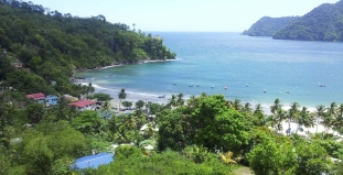 Aerial View of Trinidad