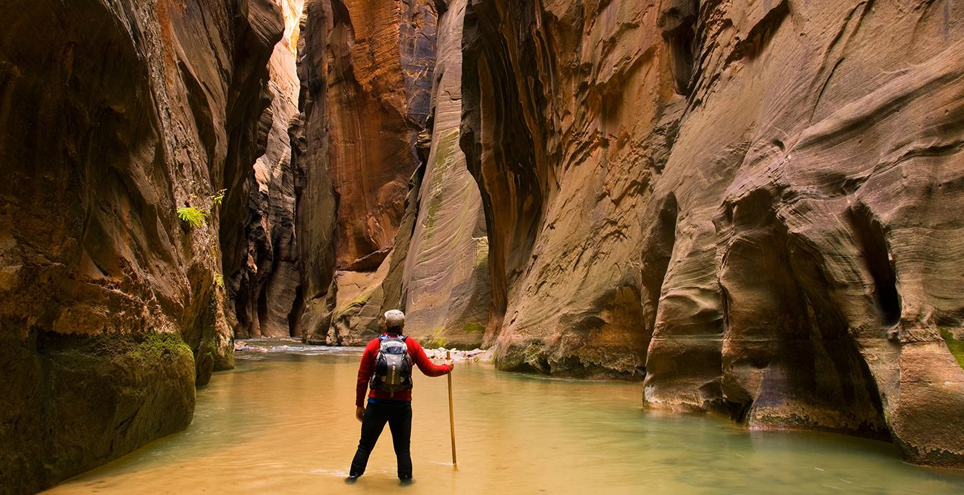 Where a River Carved a Canyon