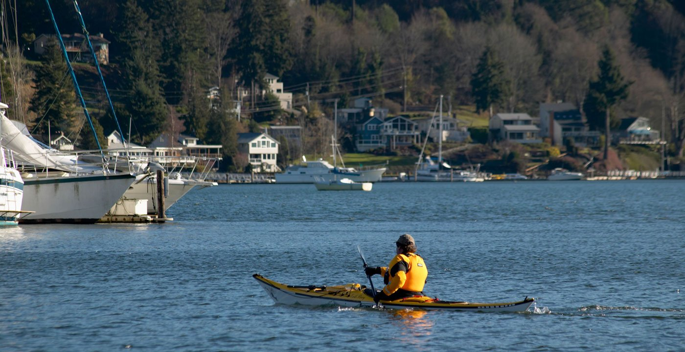 Get a Kayak-Close View of a Working Harbor